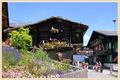 Village of Murren Switzerland