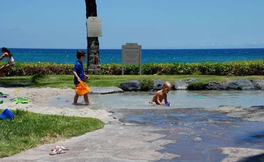Toddler Sand Pool at Fairmont Orchid Hawaii