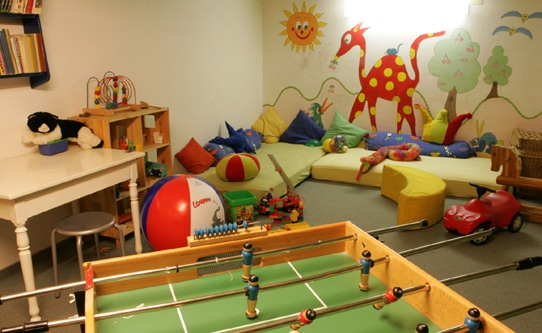 Hotel Meierhof Davos Children's Playroom