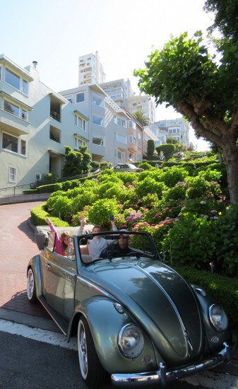 San Francisco Lombard Street Bugster